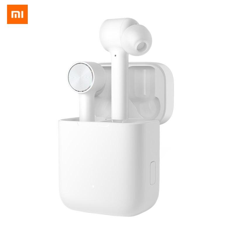 Оригинальные Xiaomi Air TWS Bluetooth наушники истинные беспроводные наушники сенсорное управление с зарядным устройством беспроводная гарнитура