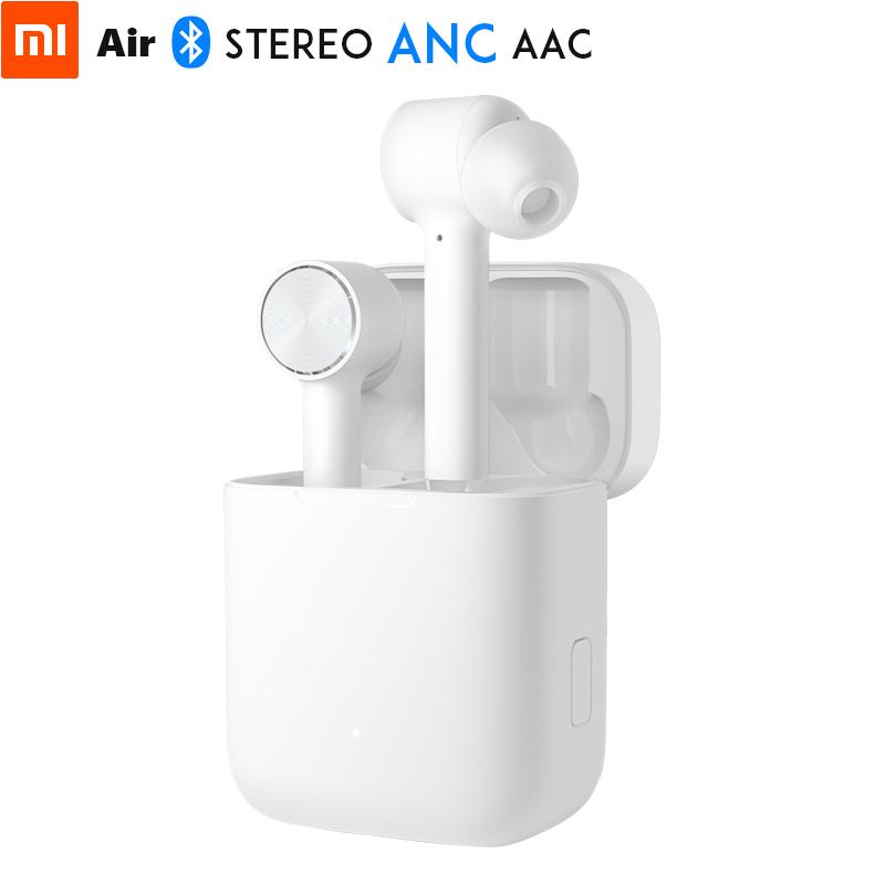 Оригинальный Xiaomi Air гарнитура TWS Bluetooth правда Беспроводной стерео наушники ANC переключатель ENC HD Авто пауза коснитесь Управление IPX4 Водонепр...