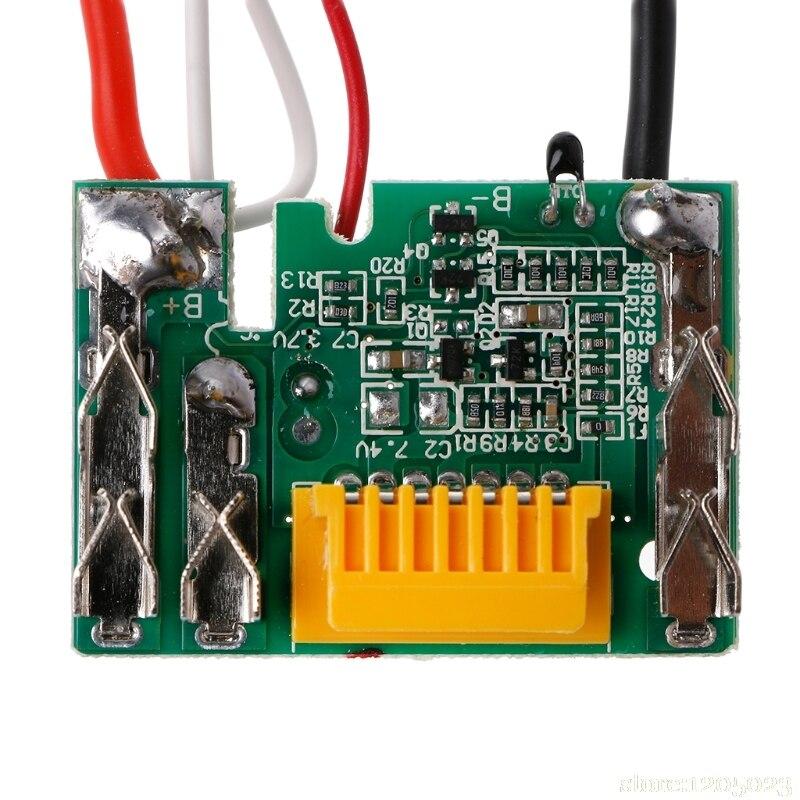 18 в PCM PCB литий-ионная литиевая батарея, защитный Модуль платы для Makita Drill W315