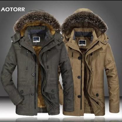 Мужская зимняя куртка с Алиэкспресс, бренд AOTORR