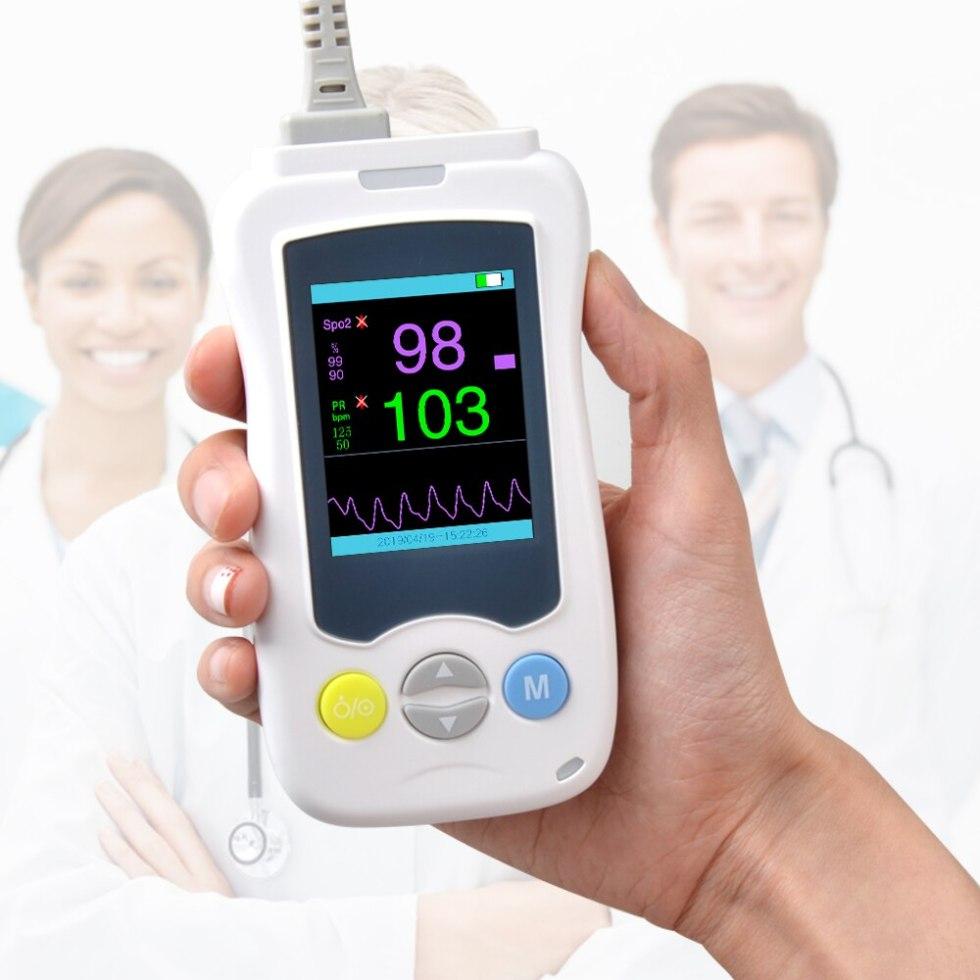 ELERA ручной пульсоксиметр Spo2 PR для взрослых новорожденных детей милые домашние животные oximetro ChoiceMMed