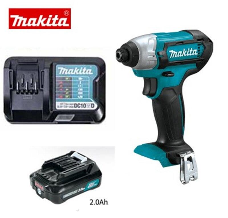 Makita TD110D TD110DSME TD110DWYE 10,8 V CXT литий-ионный Аккумуляторный ударный дайвер с 1 батареей и 1 зарядным устройством