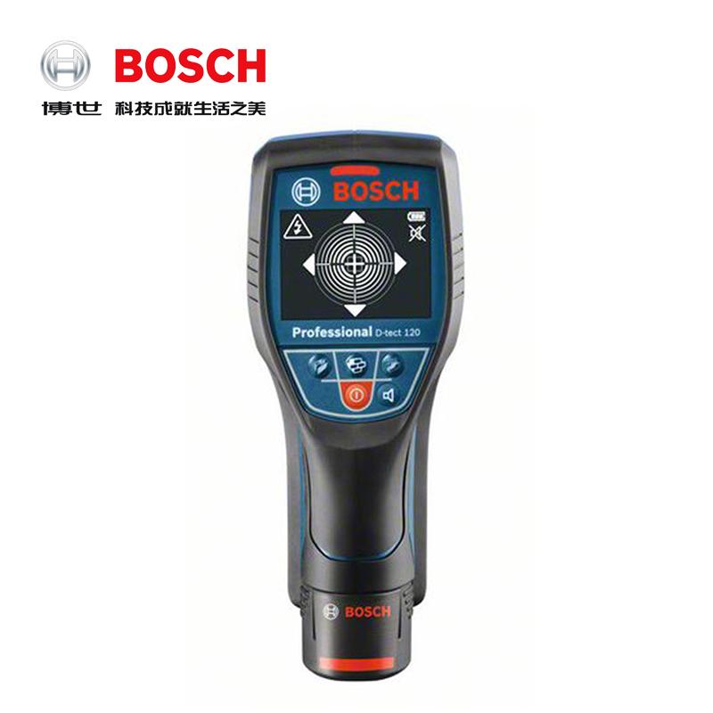 Металлоискатель Bosch D-tect 120 обнаруживает металлические/Кабельные/деревянные/водопроводные трубы