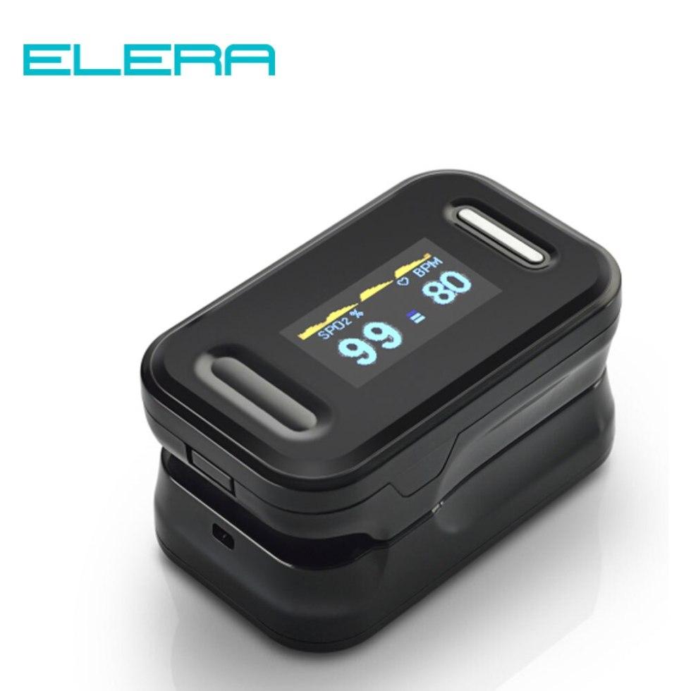 Пальцевой пульсоксиметр ELERA
