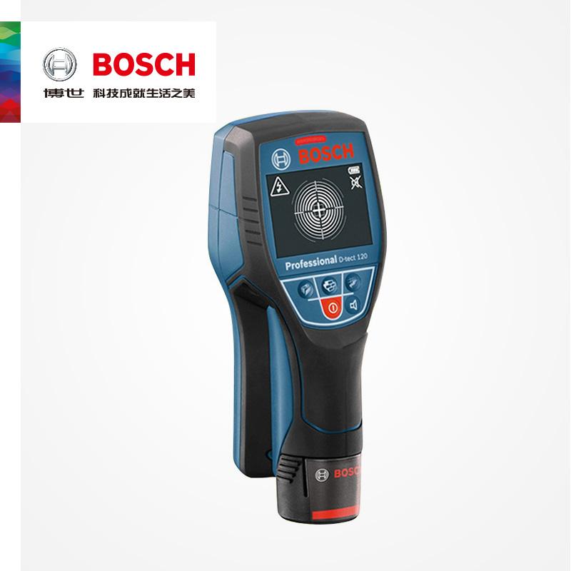 Профессиональный металлоискатель для стены и пола Bosch, детектор шлангов для дерева с литиевой батареей