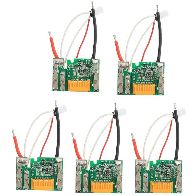 Розничная продажа; Для детей от 18V Батарея чип Замена платы PCB для Makita BL1830 BL1840 BL1850 LXT400 SKD88-5Pcs