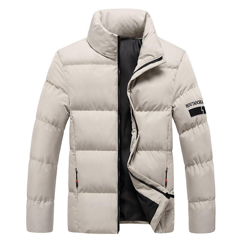Varsanol зимняя мужская куртка, парка, пальто 2020, новые мужские однотонные куртки, одежда, теплая Толстая черная повседневная куртка, верхняя од...