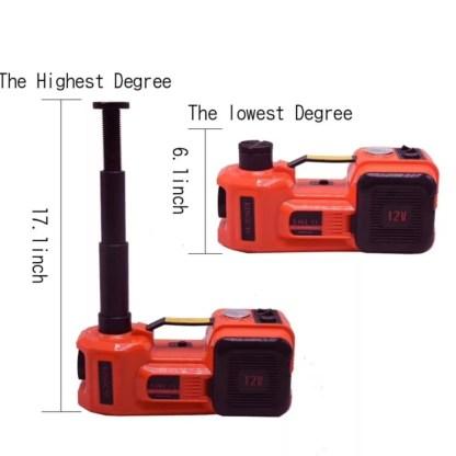Домкрат электрический размеры