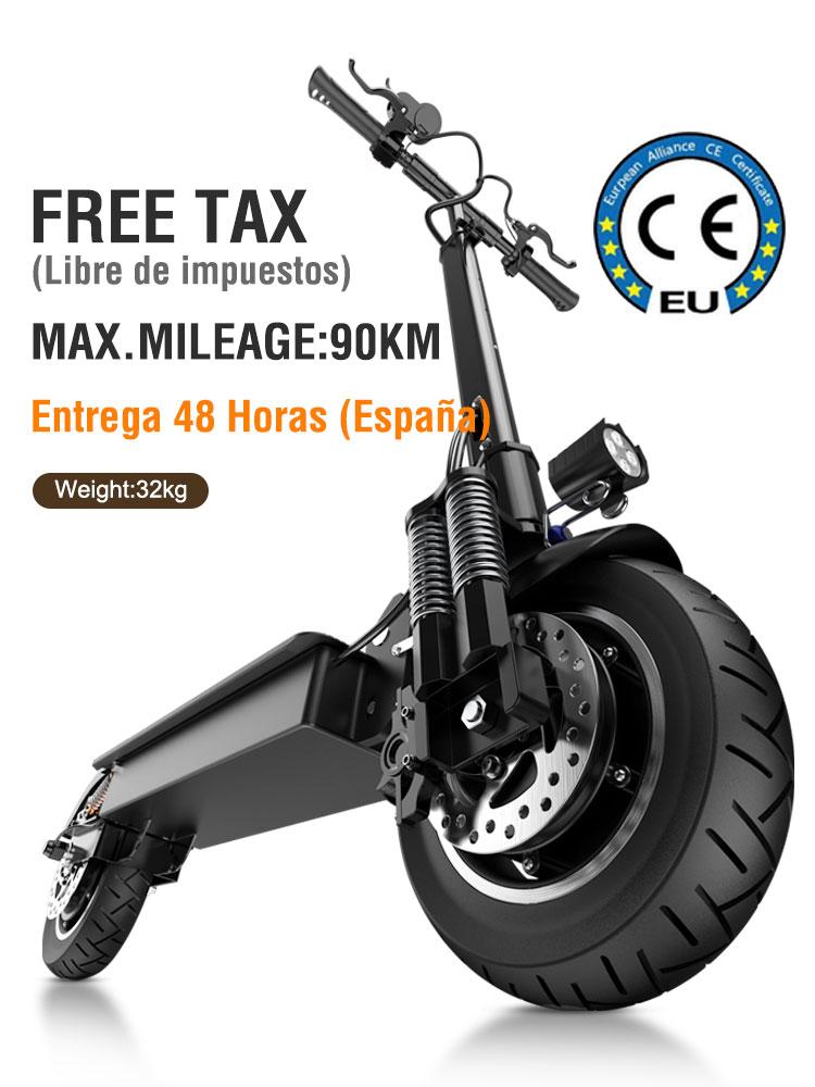 Janobike 70 км/ч Электрический скутер 2000 Вт двойной двигатель и Гидравлический Тормозной скутер 23Ah батарея максимальный пробег 90 км складной взрослый скутер|Электрические самокаты| | АлиЭкспресс