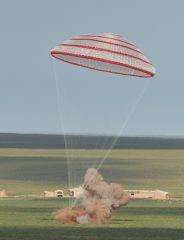 Shenzhou 10 landing