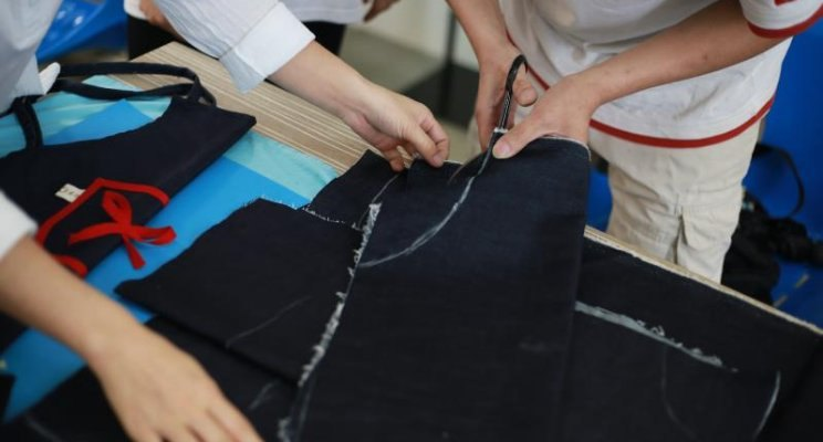 Story of a local textile upcycling program in China Vincent Djen