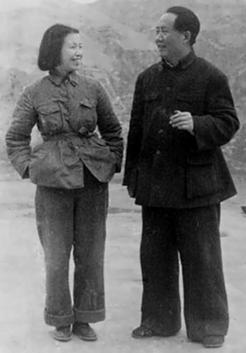 Mao-Zedong-and-Jiang-Qing