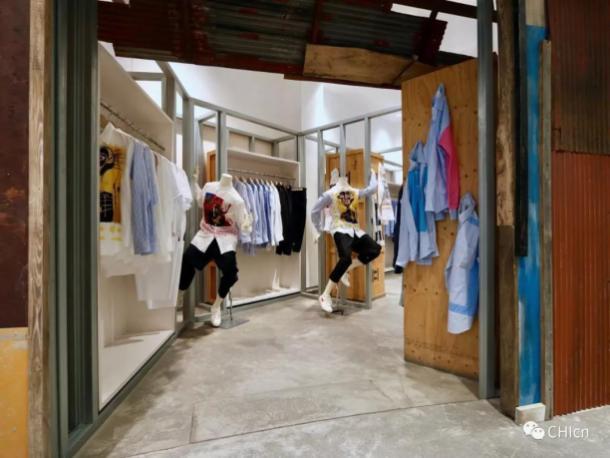 Inside Dover Street Market Beijing