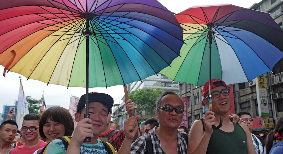 Taiwan gay rights. Image via Foreign Policy