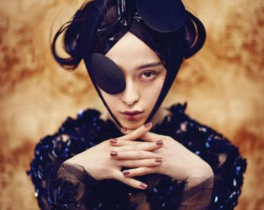 Fan Bingbing poses for i-D Magazine, Fall 2012 Issue. Photography by Chen Man. Image comes courtesy of i-D Magazine and ChenManer.com. All rights reserved