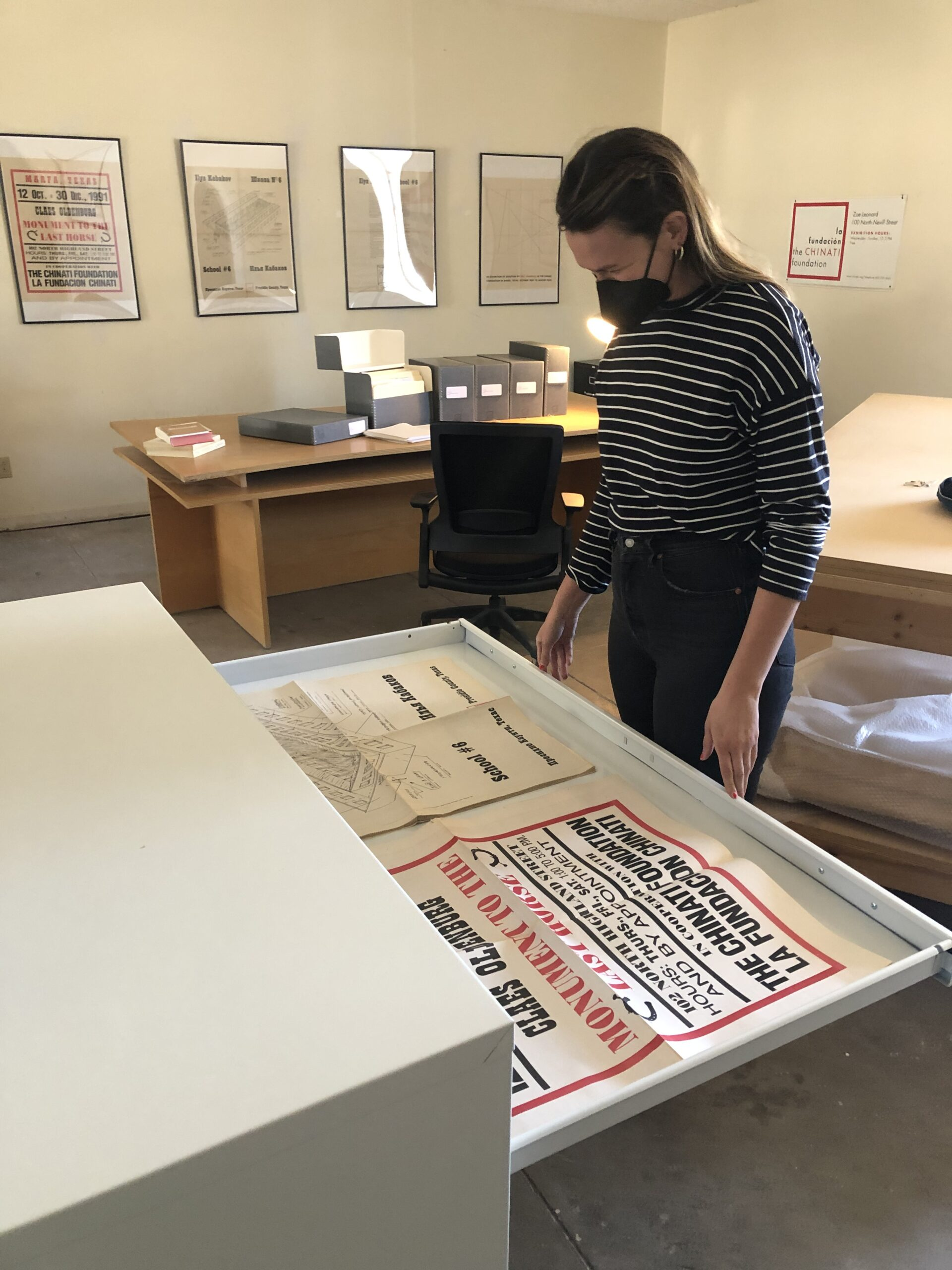 Chinati staffer Savannah Lust explores the archive's printed materials.