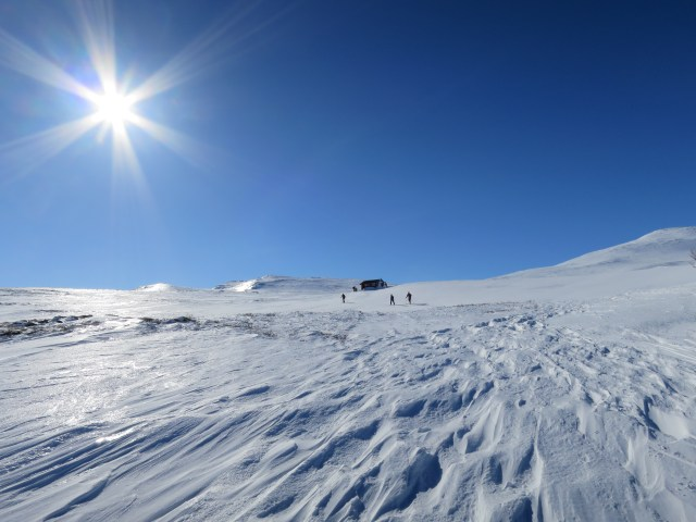 Langlaufskilaufen in Norwegen