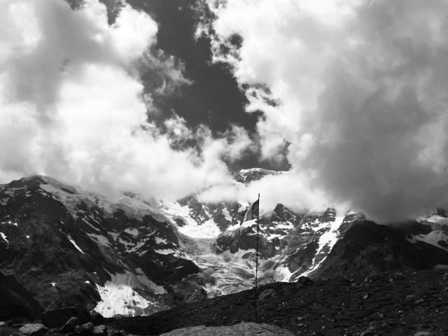 11. Tag: Am Fuße des Monte Rosa