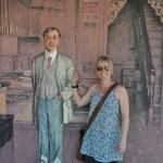 In mural