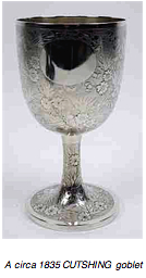 Chinese-export-silver.com - Cutshing Goblet