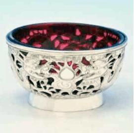 Wang Hing Cranberry Bowl