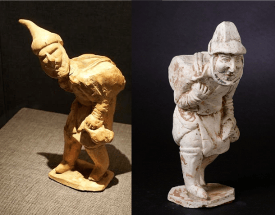 Tang Dynasty Figures of Jewish Travelling Merchants
