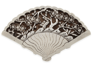 Wang Hing Art Deco Brooch