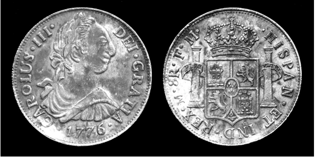 1776 Charles III 'Carolus' Trade Dollar