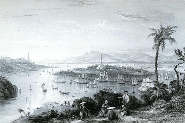 Whampoa circa 1800