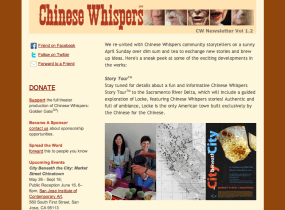 Chinese Whispers Newsletter Vol 1.2