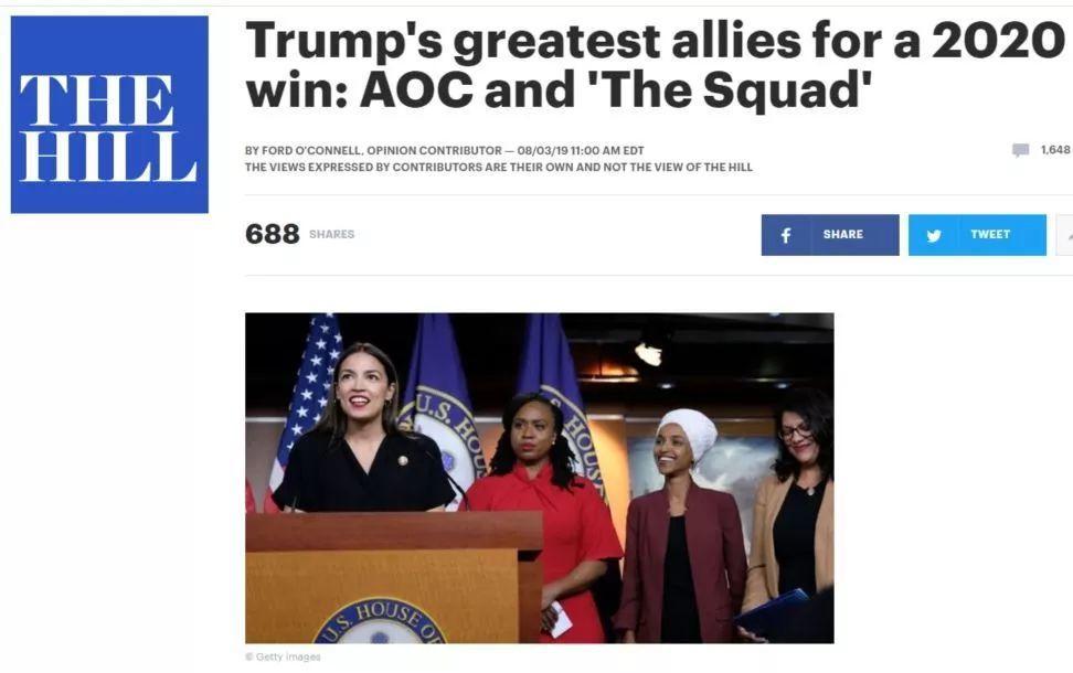 """大选战火燃起,谁是特朗普2020取胜的""""最强盟友""""?"""