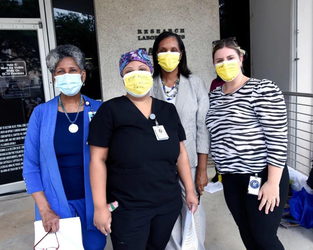 普通华裔女教授,在世界最大医疗中心发起反仇恨亚裔集会
