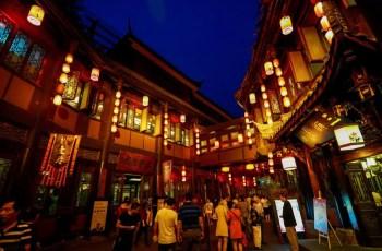 yzenith chinese food blog-china travel-jinli street scene
