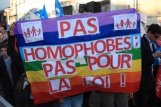 不要恐同,不要同性婚姻法案!