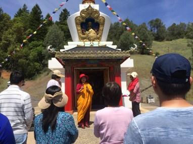 Explaining Benefits of Stupa