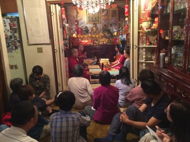 Listening to Khenpo