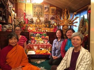Medicine Buddha Retreat Group Saturday