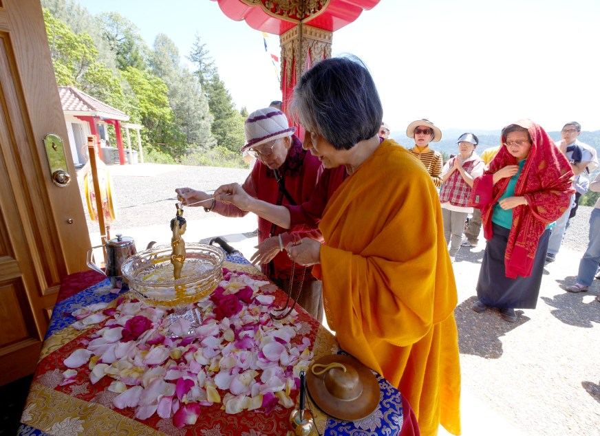 Celebrating Buddha Birthday