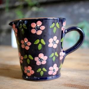 Pot à lait Corund _Flora_ rose 3