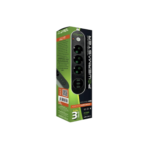 Powermaster 3-Way Overload Protection Socket 3 Usb Output