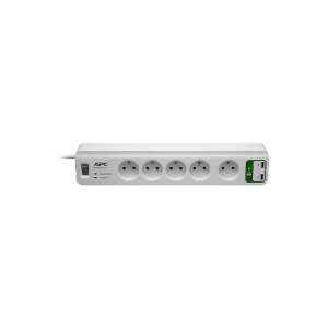 APC Essential SurgeArrest 5 Outlets with 2 USB Charging Ports