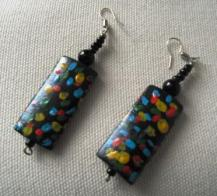 Mulit-Colour drop earrings