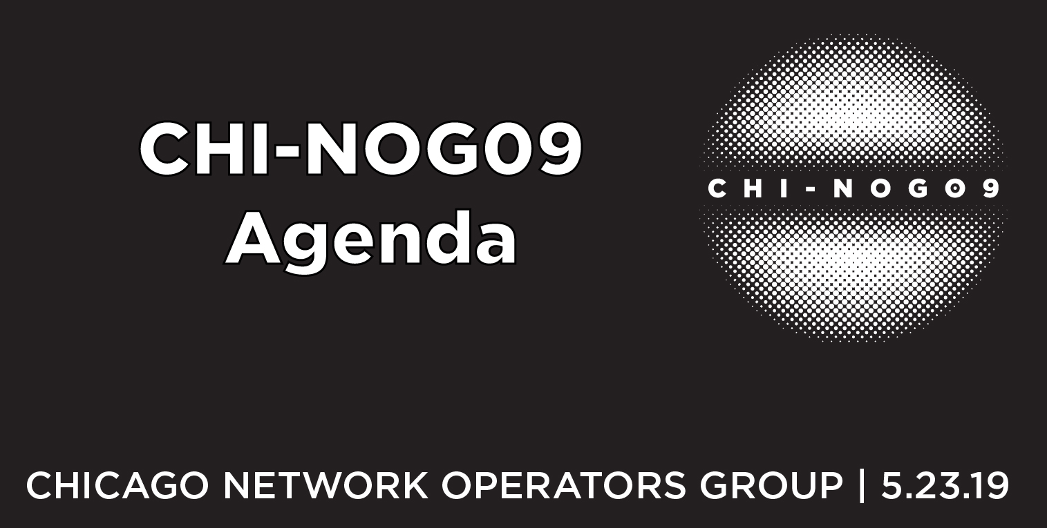 CHI-NOG 09 Agenda Published
