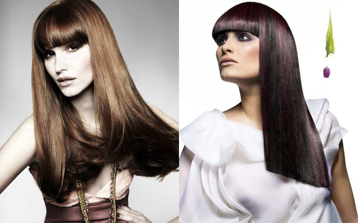 Straight-Hairstyle-of-Long-Haircuts-for-Women-with-Bangs