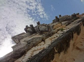 Kabah - Warrior Statues