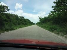 Road to Xpujil