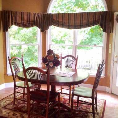 custom-valances-draperies - Wayensville Ohio- CH Interior Designs