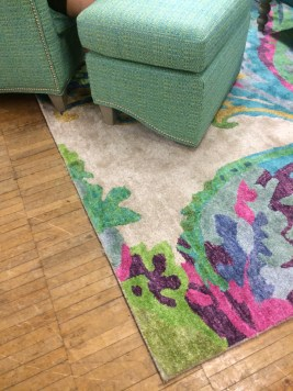 Colorful and fun area rugs, CH Interior Designs