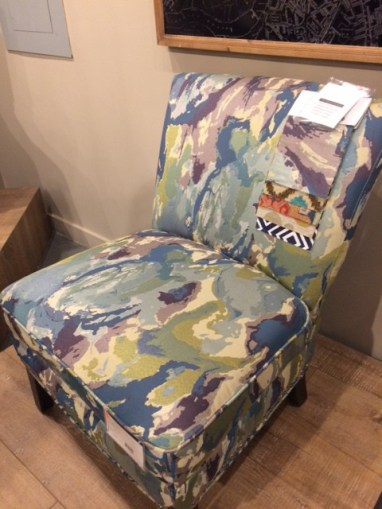 find accent chairs, choose your fabric