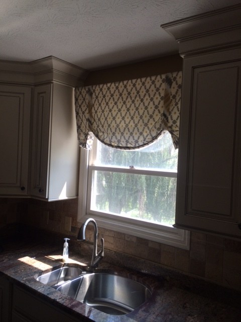 Custom curtains and valences are perfect for your unique design style.